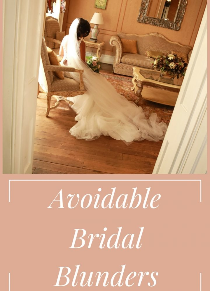 Bridal Blunders: 6 Common No-no's Brides Do a Week Before the Wedding